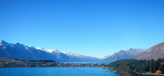 Swiss-Belsuites Pounamu Queenstown : The view from my balcony