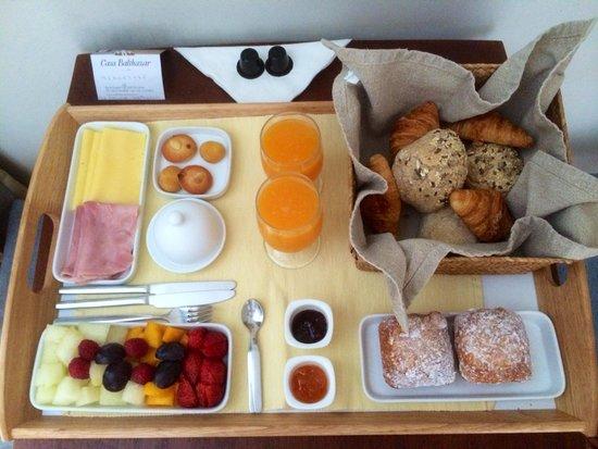 Casa Balthazar : Breakfast!