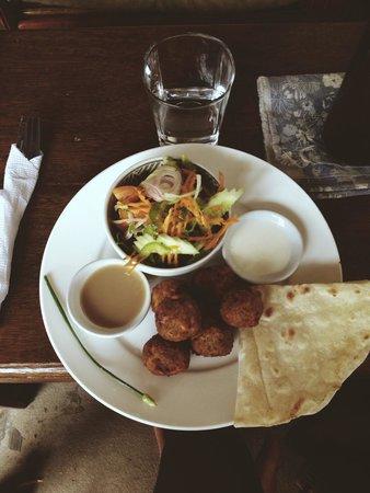 Cafe Espresso Kampot: Falafel