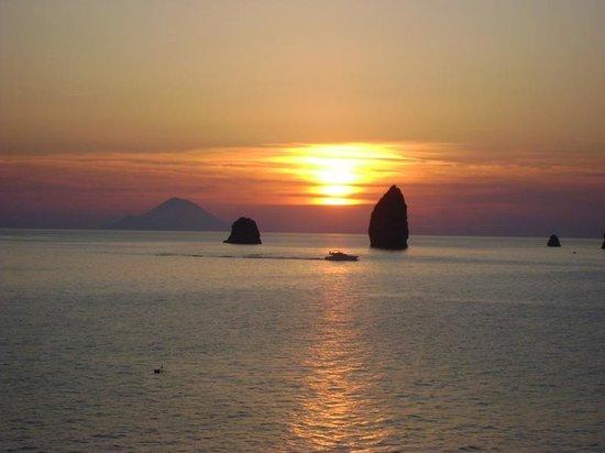 Baia Fenicia Residence: tramonto