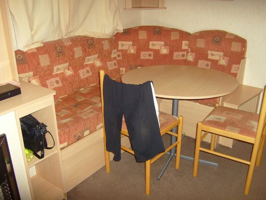 The Orchards Holiday Park - Haven: front room of caravan