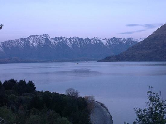 Matakauri Lodge: view from suite 4