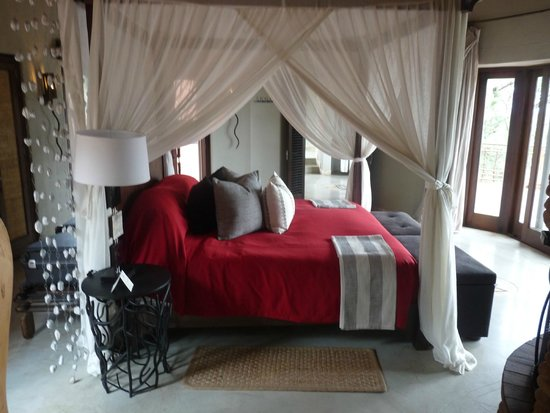 Thanda Safari : lit confortable