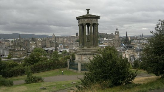 Calton Hill: top of the hil