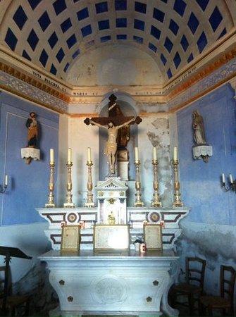 Chapelle de Notre-Dame de la Serra : la chapelle N D de la serra