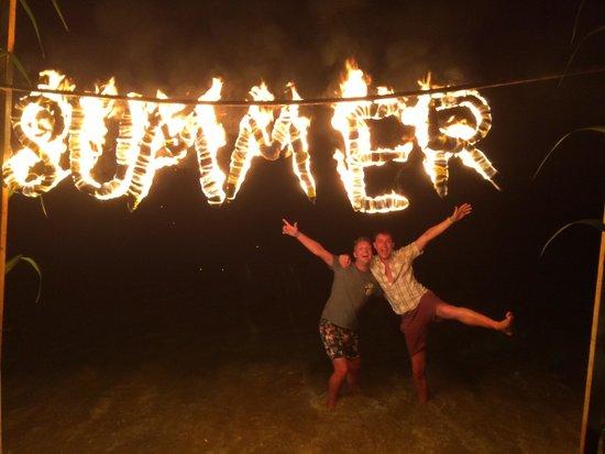 Mayor La Grotta Verde Grand Resort: Saturday night beach party