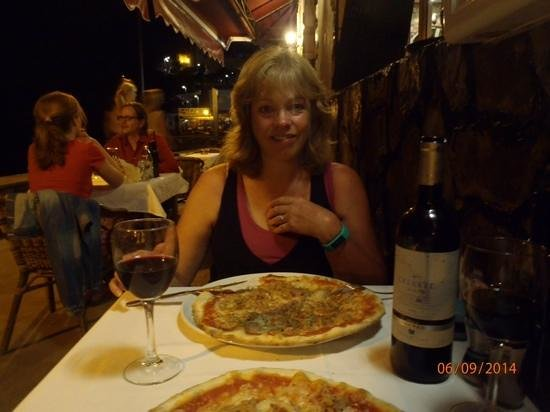 Restaurante Pizzeria Vesubio : Scrummy, and the pizza's not bad too!