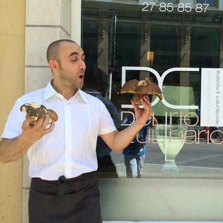 Delirio Culinario: renzo proprietario del delirio, davvero gentilissimo.