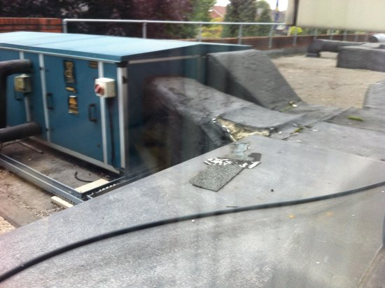 Britannia Hotel Stockport : You can Die from Asbestos covered generators exposed