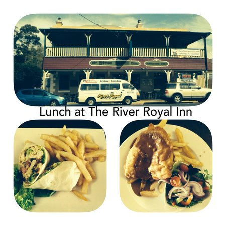 River Royal Inn: Great place for lunch on a Sunday Drive