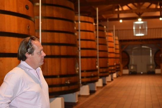 Bella Wine Tours: Hamish in Gruaud Larose