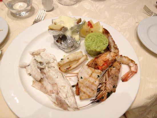 Hotel Del Golfo : Grigliata di pesce