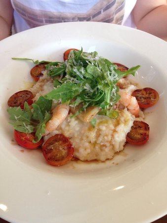 Pomodoras on Obi: 'Shellfish fish risotto'