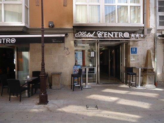 Hotel Centro Los Braseros : Fachada del Hotel