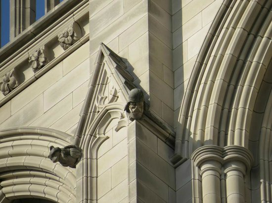 Washington National Cathedral : Darth Vader an der National Cathedral
