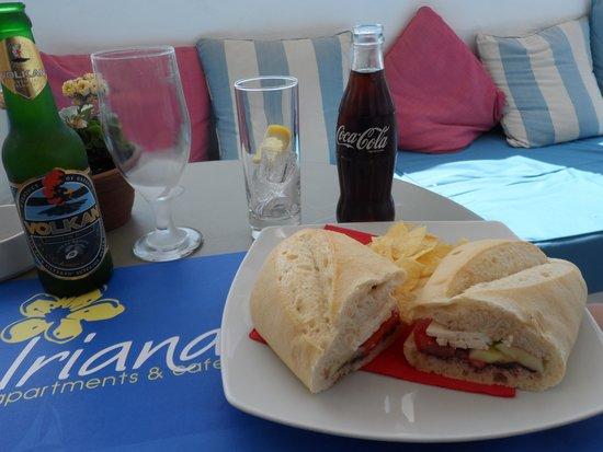 Iriana Cafe: special beer