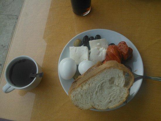 Meltem Hotel: завтрак