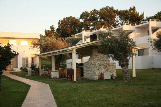 Lydia Maris Resort & Spa: Pizza house