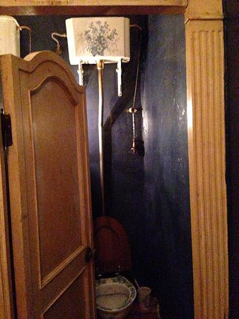Cafe Pushkin: It's not very often I see a toilet worth photographing