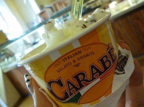 Gelateria Carabe: リモーネとチョコチップ