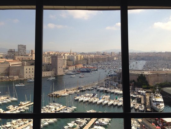Sofitel Marseille Vieux-Port : View from 7th floor