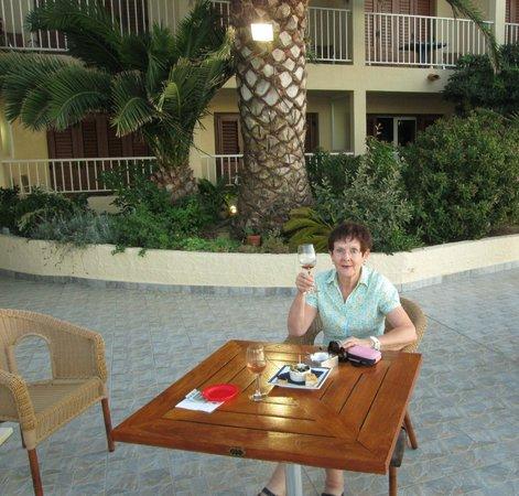 U paradisu: Chambre avec vue sur la terrasse
