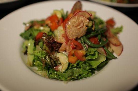 Abaca Boutique Resort: Pretty Salads