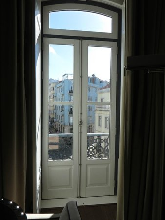 The Vintage Lisboa: french doors to view