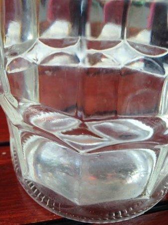 Las Iguanas: tap water bottle 2014