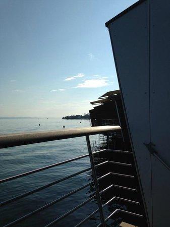 Hotel Palafitte: Terrasse avec superbe vue