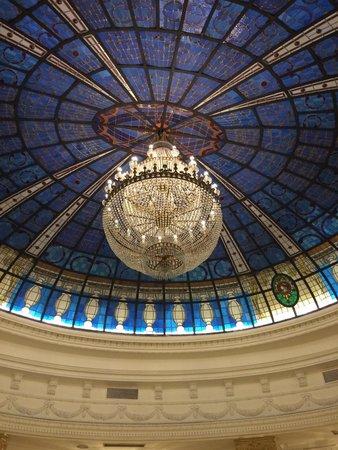 Gran Melia Fenix: The most incredible internal ceiling