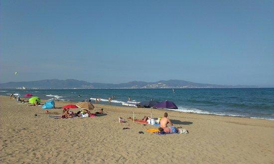 Camping L'Amfora : la playa