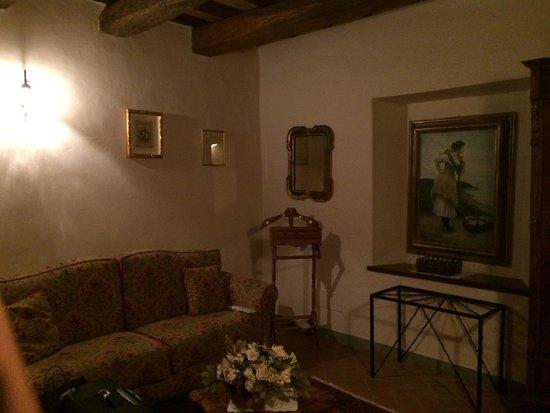 Villa Campestri Olive Oil Resort : гостиная