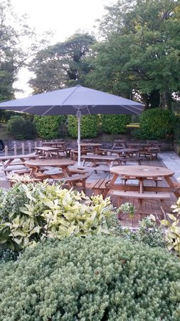 The Montgomery: The garden area