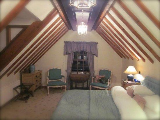 Nunsmere Hall Hotel: Attic room view 1