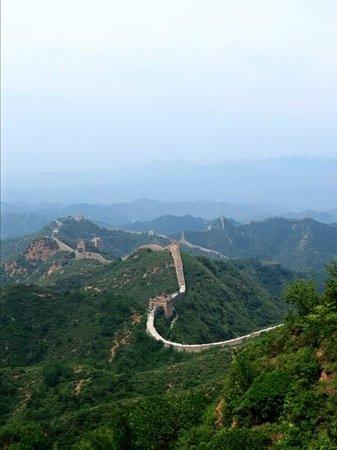 Jinshanling Great Wall: Aussicht Jinshaling