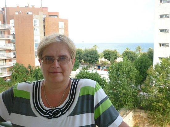 Terramar Hotel : на балконе