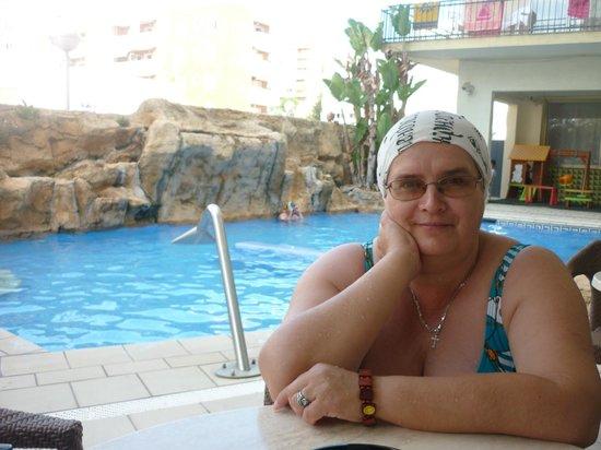 Terramar Hotel : у бассейна