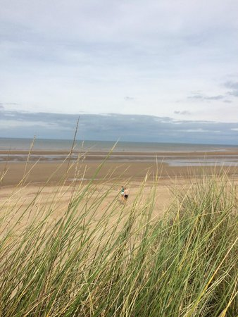 Thornham, UK: Holme Dunes, out to see