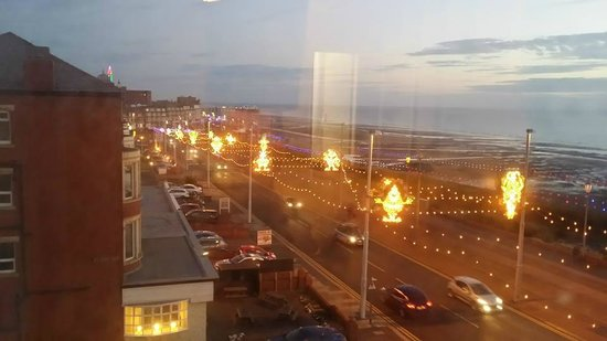 The Cliffs Hotel: view from our room to North Pier