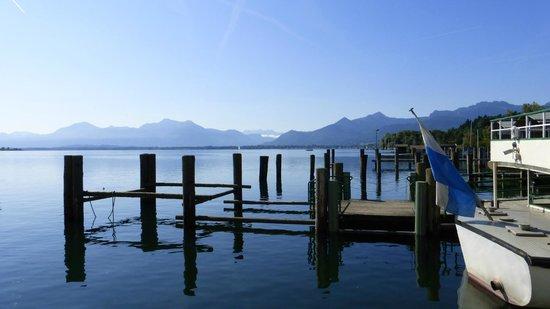 Yachthotel Chiemsee: Strandbereich