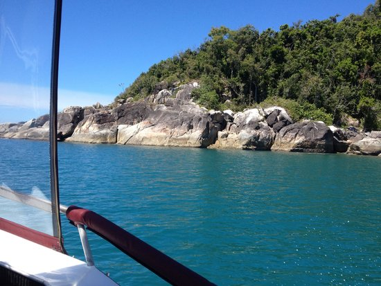 Mission Beach Charters: From the boat