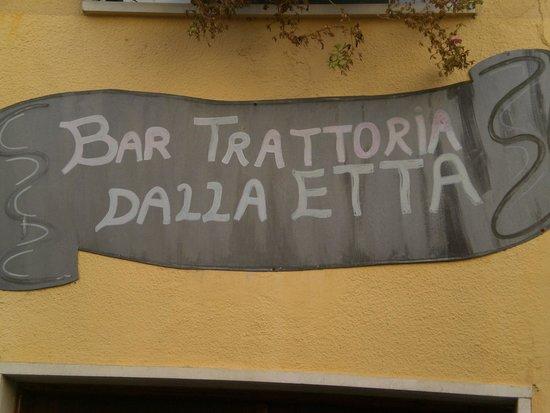 Trattoria dalla Etta : ohne Worte :)