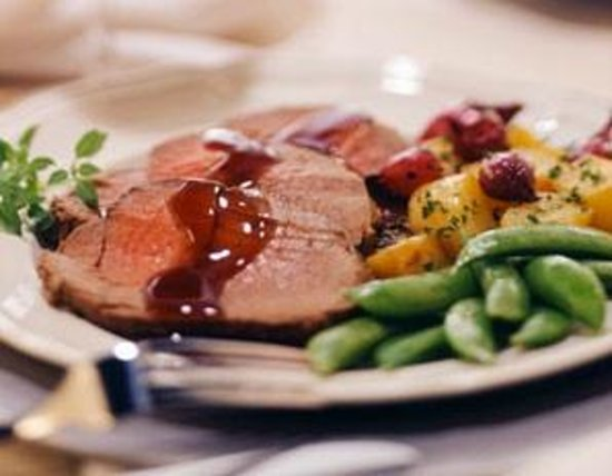 Sunday roast beef. Delicious, but some might prefer better.