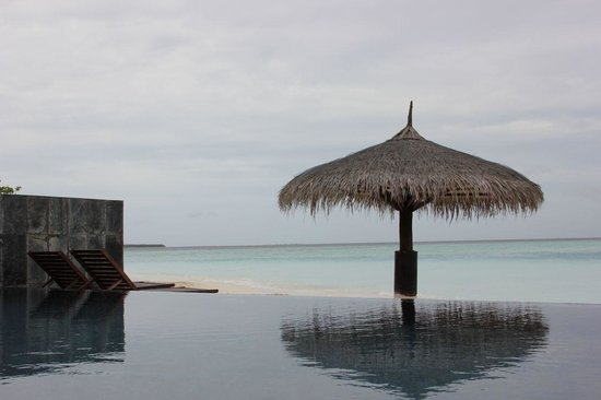 Kihaa Maldives: Private villa pool view