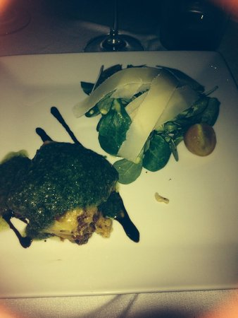 Bistro Paloma: Goats Cheese Lasagna (with apologies for the dreadful photography!). This was delicious!