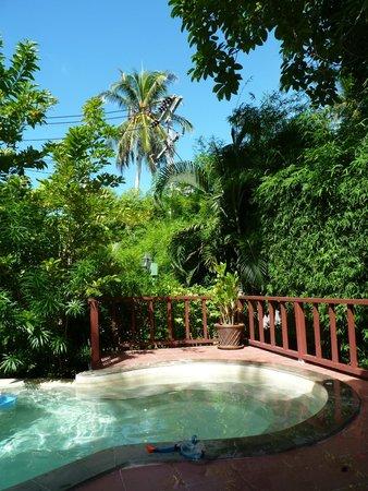 Hacienda Beach Resort: Privater Pool