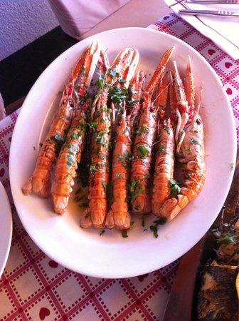 Restaurant Izletiste: Scampi