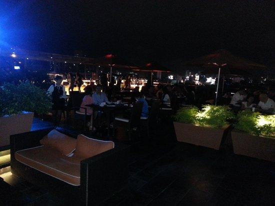 The Bayleaf : Roof top bar and restaurant.