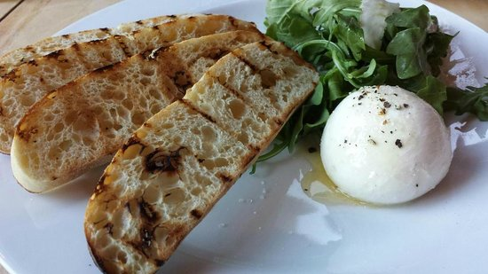 The Lazy Goat: Their burrata is one of the best parts of the meal! Simple and so good.